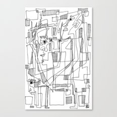 Conversation Canvas Print