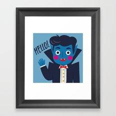Vampi, the Sweetest Vampire - II Framed Art Print