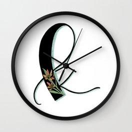 kaffir lily Wall Clock