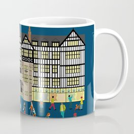 Art Print of Liberty of London Store - Night time Coffee Mug