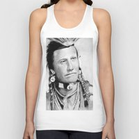 native american Tank Tops featuring Native American by chomaee