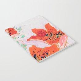 Orange Lily Notebook