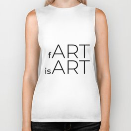 fArt is Art Biker Tank