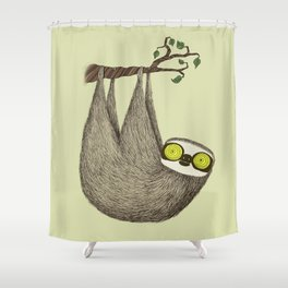 Hypno Sloth Shower Curtain
