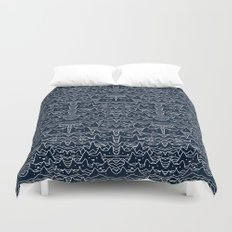 Wave of Cats Duvet Cover