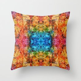 Candied Jelli #3 Throw Pillow