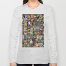 Edgar Degas Dancers Montage Long Sleeve T-shirt
