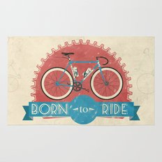 Born to Ride Rug