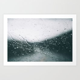 It's Raining. Art Print