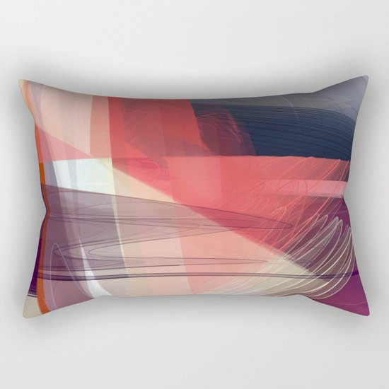 Abstract 391 Rectangular Pillow