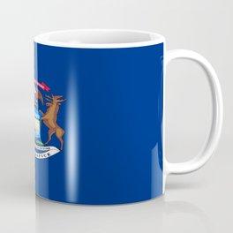 flag michigan,america,usa,great lakes,detroit,Michigander,yooper,Lansing,winter wonderland,Wolverine Coffee Mug