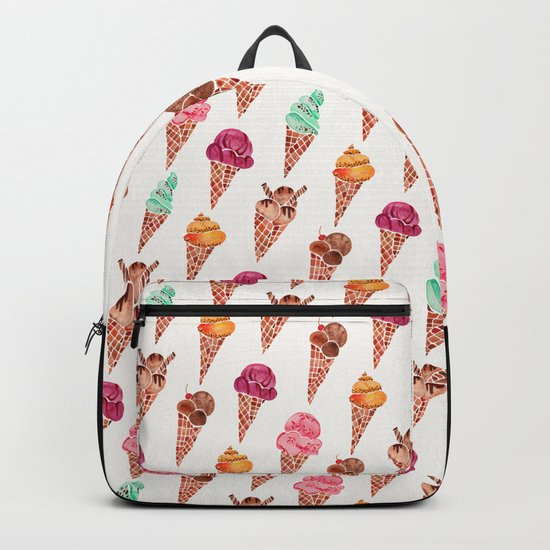 Ice Cream Cones – Rainbow Palette Backpack