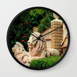 Oh-Leo-Leo-cean Free Wall Clock