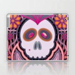 Crapstagram Sugar Skull Laptop & iPad Skin