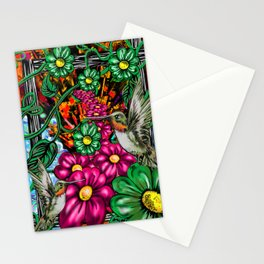 """Incense & Hummingbirds"" Stationery Cards"