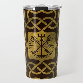 Vegvisir - Viking  Navigation Compass Travel Mug