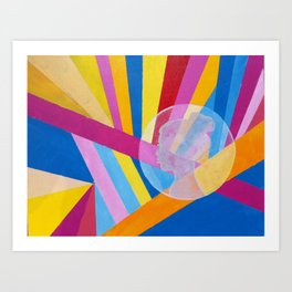 Fragments 1 Art Print
