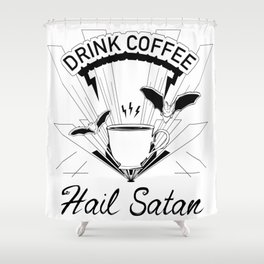 Coffee for Life Shower Curtain