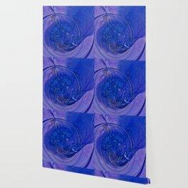 Blueberry Swirl Wallpaper