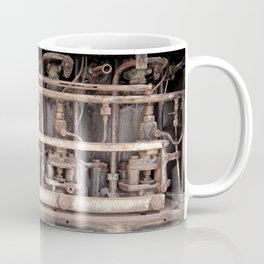rust - ancient abandoned engine Coffee Mug