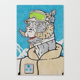 Luke (Hoth) Canvas Print