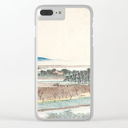 View of Azuma Wood Clear iPhone Case