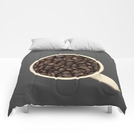 cup of coffee beans Comforters