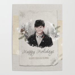 OUAT HAPPY HOLIDAYS // HENRY MILLS Poster