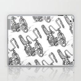 'Slicks R 4 Chicks' - Girls Mod Stingray Muscle Bike Cartoon Retro Bicycle Laptop & iPad Skin