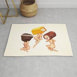 Hostess Cake Girls Rug