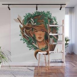 Artemis - Greek Goddess Wall Mural