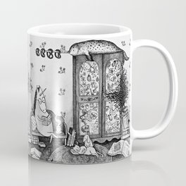 Unicorn house Coffee Mug