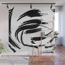 Foundry Abstract Brush Strokes 1 Wall Mural