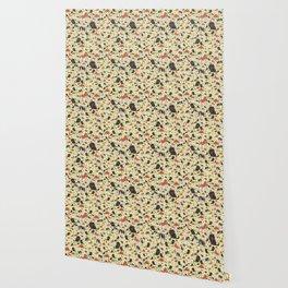 Spaniel Pattern Wallpaper