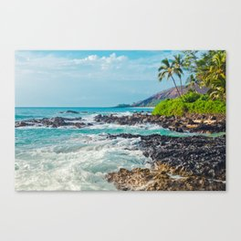 Paako Beach Blue Sensation Canvas Print
