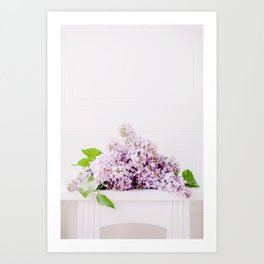 Dreamy Bunch Art Print