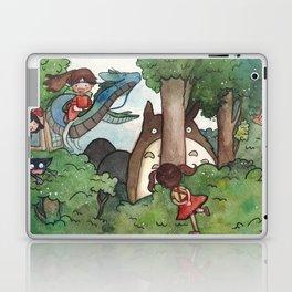 Studio Ghibli Crossover Laptop & iPad Skin