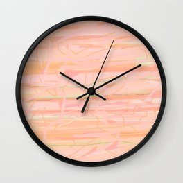20180625 Lines up and down No. 5 Wall Clock