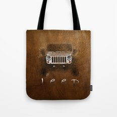 Jeep Abstract Tote Bag