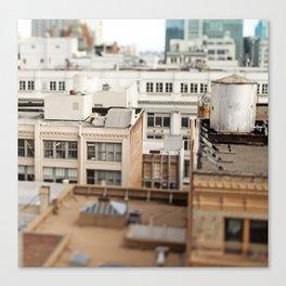 Tilt Shift San Francisco Canvas Print