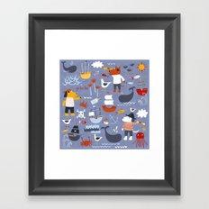 Yo Ho Ho! Framed Art Print