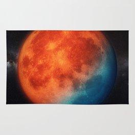 Super blue blood moon Rug