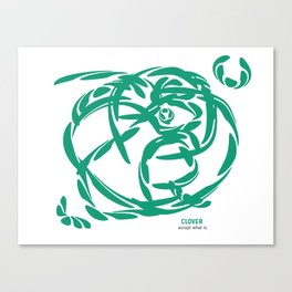 Clover: Accept What Is Canvas Print
