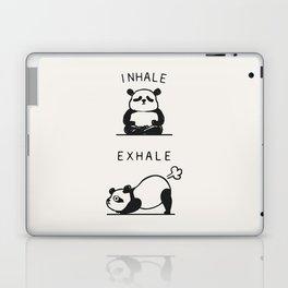 Inhale Exhale Panda Laptop & iPad Skin