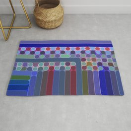Spots, Dots, and Stripes Rug