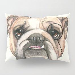 English Bulldog - livin' la vida bulldog Pillow Sham