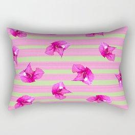 Flower Freefall Rectangular Pillow