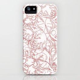 Heart Rain iPhone Case