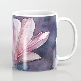 Winter Magnolia, watercolor artwork Coffee Mug