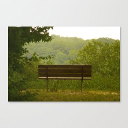 Save a seat for me Canvas Print